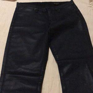 Club Monaco Leather Pants